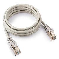 Патч-корд FTP Cablexpert PP22-2m кат.5e, 2м, литой, многожильный (серый)