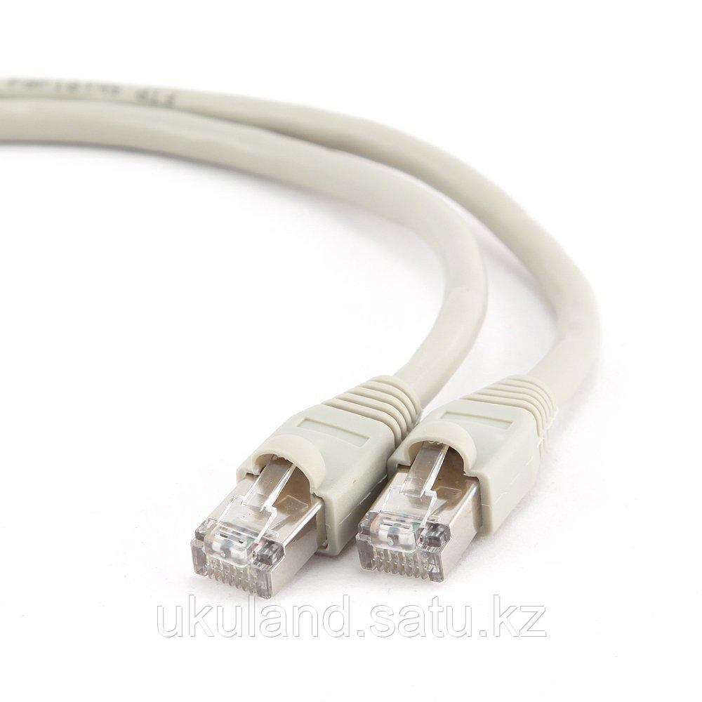 Патч-корд FTP Cablexpert PP6-5m кат.6, 5м, литой, многожильный (серый)