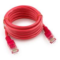 Патч-корд UTP Cablexpert PP12-2M/RO кат.5e, 2м, литой, многожильный (розовый)