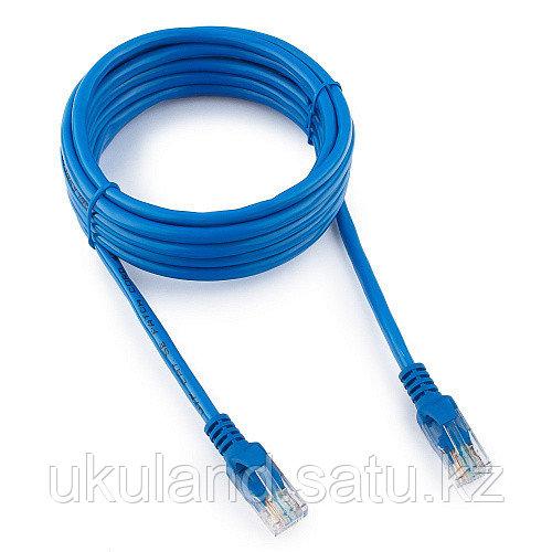 Патч-корд UTP Cablexpert PP12-3M/B кат.5e, 3м, литой, многожильный (синий)