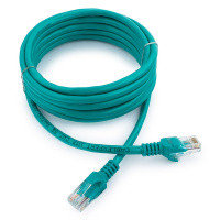 Патч-корд UTP Cablexpert PP12-3M/G кат.5e, 3м, литой, многожильный (зелёный)