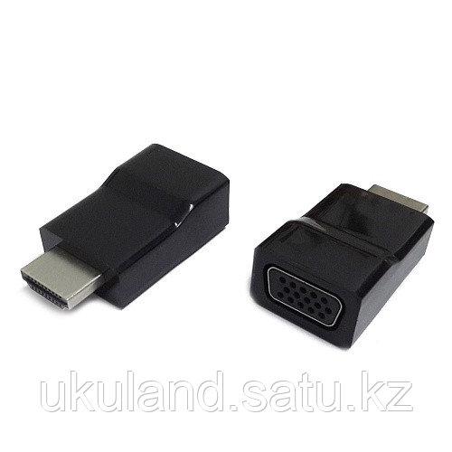 Переходник HDMI-VGA Cablexpert A-HDMI-VGA-001, 19M/15F