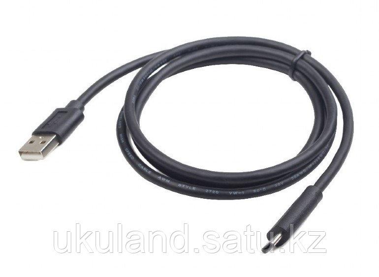 Кабель USB Cablexpert CCP-USB2-AMCM-1M, USB2.0 AM/ USB Type-C, 1м, пакет