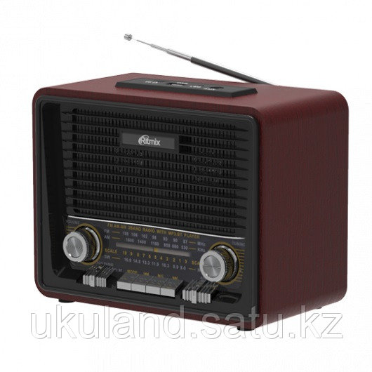 Радиоприемник портативный Ritmix RPR-088 BLACK