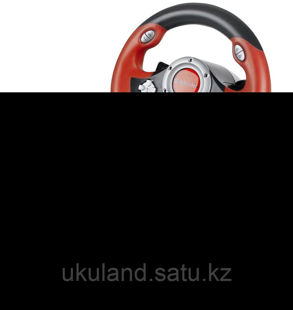 Руль игровой Defender Challenge Mini LE USB комбинированный