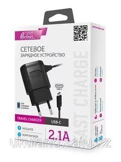 Сетевое зарядное устройство Partner type-C, 2.1А