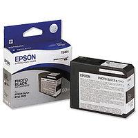 Картридж Epson C13T580100 STYLUS PRO 3800 фото черный