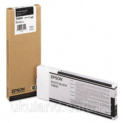 Картридж Epson C13T606100 SP-4880 фото черный