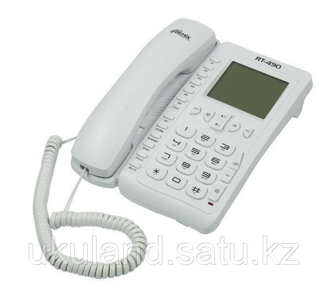Телефон проводной Ritmix RT-490 белый