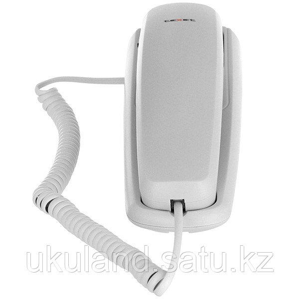 Телефон проводной Texet TX-219 серый