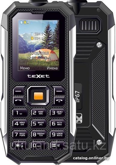 Мобильный телефон Texet TM-518R черный
