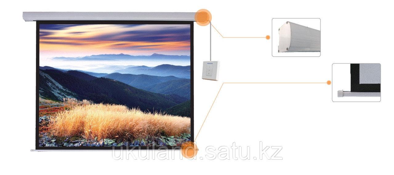 "Экран моторизированный Mr.Pixel 80"" X 80"" (2,03 X 2,03)"