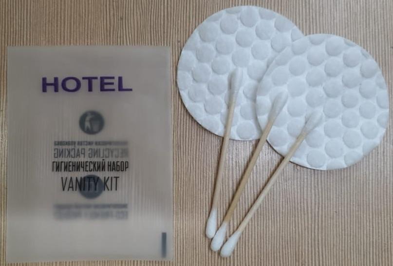 Гигиенический набор  HOTEL в пакете флоупаке