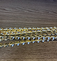 Гвоздевая лента 11 мм, золото - 10 метров, фото 1