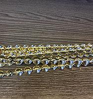 Гвоздевая лента 11 мм, золото - 10 метров