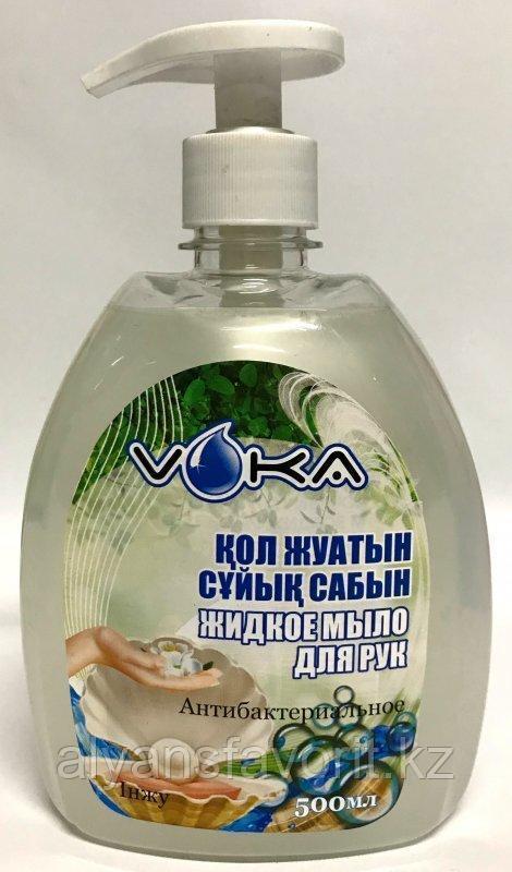 Voka-  антибактериальное / бактерецидное жидкое мыло для рук. 500 мл.РК
