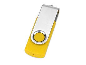 Флеш-карта USB 2.0 16 Gb Квебек, желтый