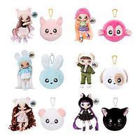 NA! Na! Na! Surprise - мягкие куклы с животным-помпоном-сумочкой  серия 2 вторник мяу от MGA, фото 1