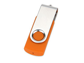 Флеш-карта USB 2.0 32 Gb Квебек, оранжевый