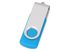 Флеш-карта USB 2.0 16 Gb Квебек, голубой