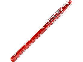 Ручка шариковая Лабиринт с головоломкой красная