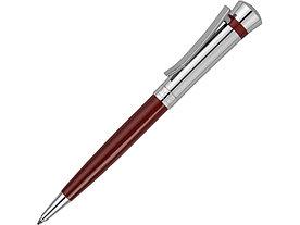 Ручка шариковая Nina Ricci модель Legende Burgundy, красный/серебристый