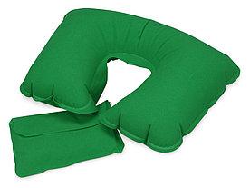 Подушка надувная Сеньос, зеленый