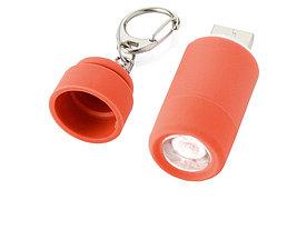 Мини-фонарь Avior с зарядкой от USB, красный
