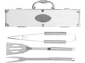 Набор для барбекю в кейсе: лопатка, щипцы, вилка