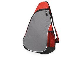 Рюкзак Спортивный, красный/серый