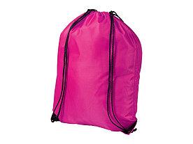 Рюкзак стильный Oriole, вишневый светлый