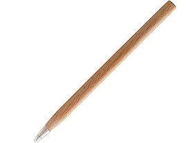 Ручка шариковая деревянная Arica, натуральный