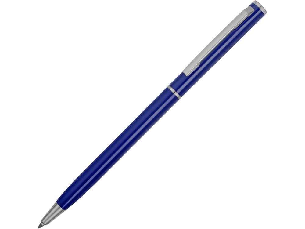 Ручка металлическая шариковая Атриум, синий