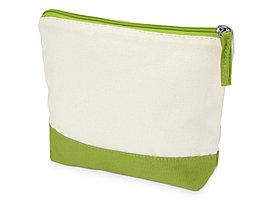 Косметичка хлопковая Cotton, зеленое яблоко