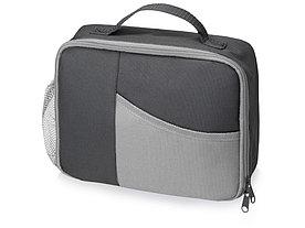 Изотермическая сумка-холодильник Breeze для ланч-бокса, серый/серый