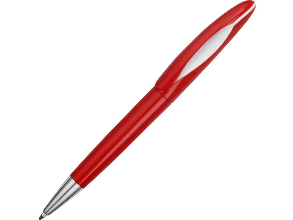 Ручка пластиковая шариковая Chink, красный/белый