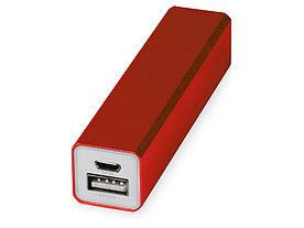 Портативное зарядное устройство Брадуэлл, 2200 mAh, красный