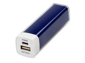 Портативное зарядное устройство Ангра, 2200 mAh, синий