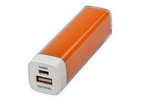 Портативное зарядное устройство Ангра, 2200 mAh, оранжевый