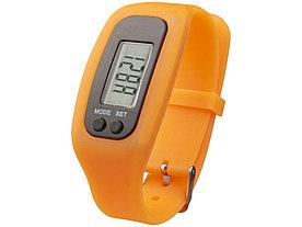 Часы с шагомером Get-Fit, оранжевый