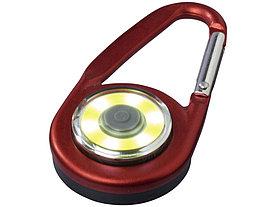 Фонарик с карабином The Eye, красный