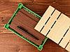 Подарочная деревянная коробка, зеленый, фото 2