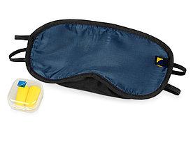 Дорожный набор Travel Blue Comfort Set, синий/черный