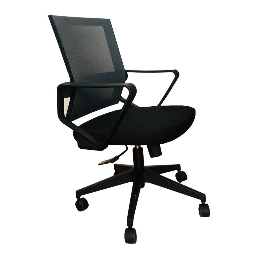 Офисное кресло, кресло ZETA, Зета,  ZETA,  компьютерное кресло, ZETA,  мод D1-698BB черно-серый ВИ