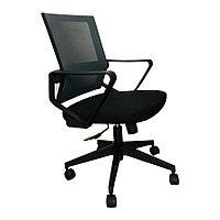 Кресло мод D1-698BB черно-серый (ВИ),