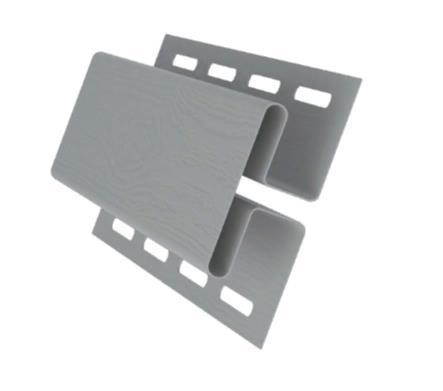Профиль H соединительный Серый 3000 мм  Grand Line