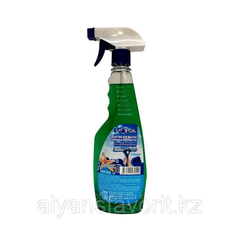 VOKA glass - средство для мытья окон и зеркал. 500 мл.- спрей. РК