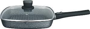 Гриль-сковорода с крышкой Nice Cooker Gemi Series 28x28x5,0 см 2,5 л