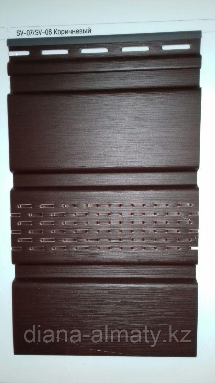 Соффит виниловый VOX  (коричневый) 0,3*3м