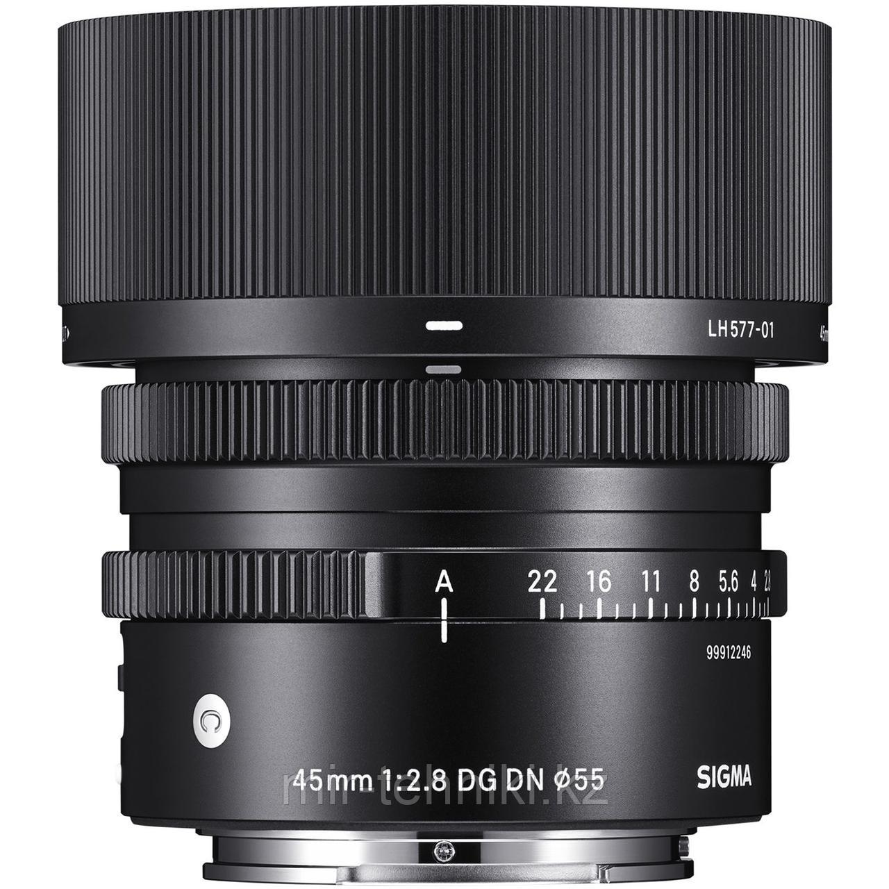 Sigma 45mm F/2.8 DG DN Contemporary Sony